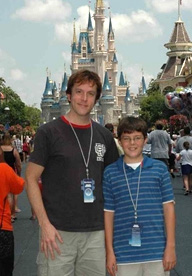 Rick & Jesse in the Magic Kingdom at Disney