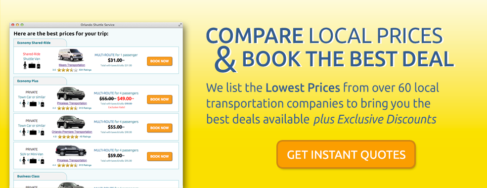 Compare Local Prices & Book the Best Deal